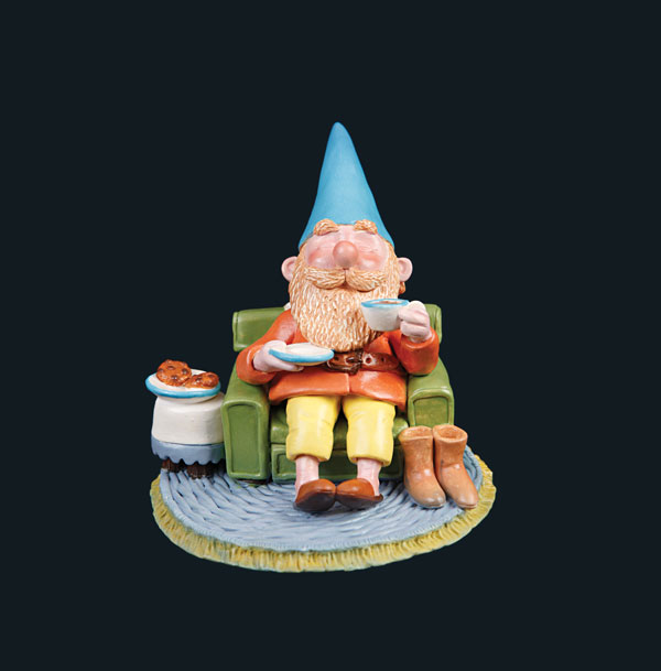 Gnome Taking It Easy