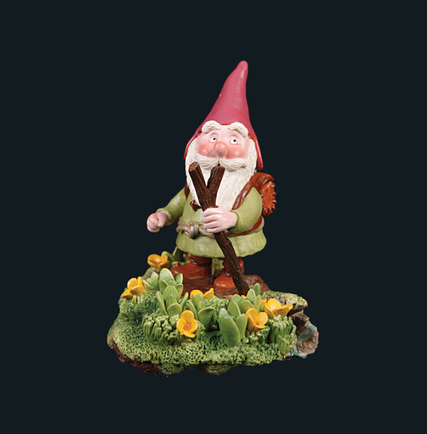 Gnome Goes to the Mountains