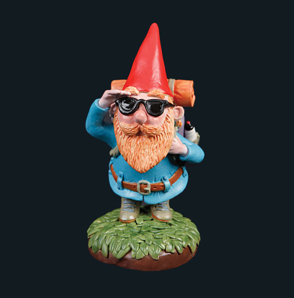 Gnome Goes Travelling