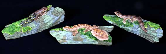 Gecko Table Ornaments