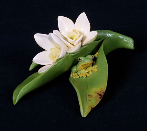 Orange Blossom Orchid