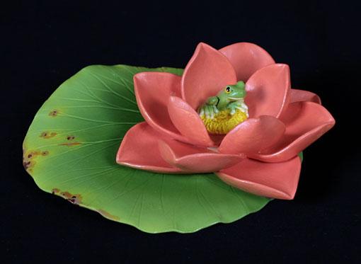 Red Lotus Lily