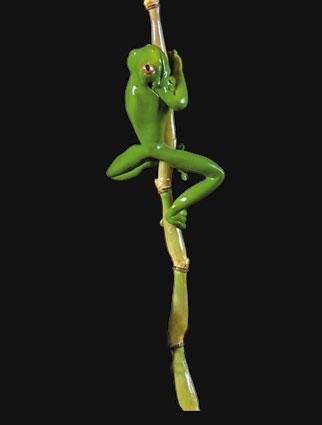 Frog on Stake