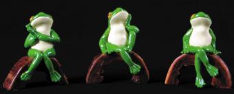 Frogs Dreaming (Legs Crossed)