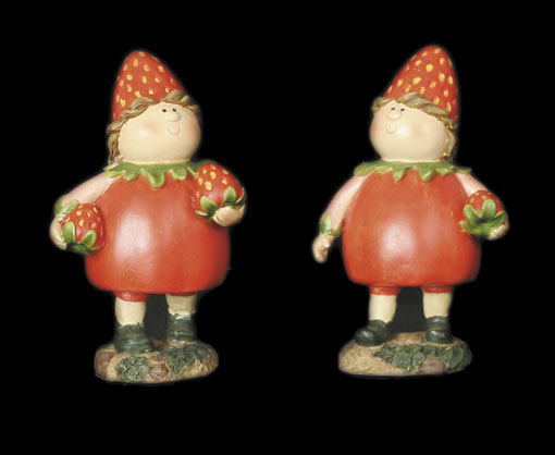 Strawberry Girls Small (Pair)