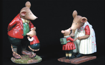 Country Mice - Mum & Dad
