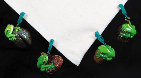 Tablecloth Weight Frogs