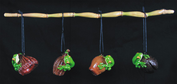 Nuts on String / Frog on Nut